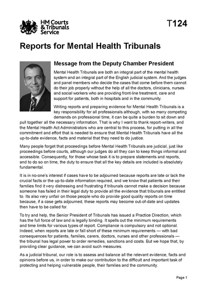 File:Reports for Mental Health Tribunals.pdf